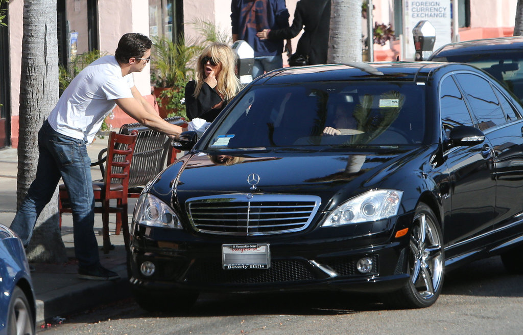 photo of Goldie Hawn Mercedes - car