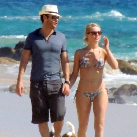 Julianne Hough Bikini Pictures in Cabo