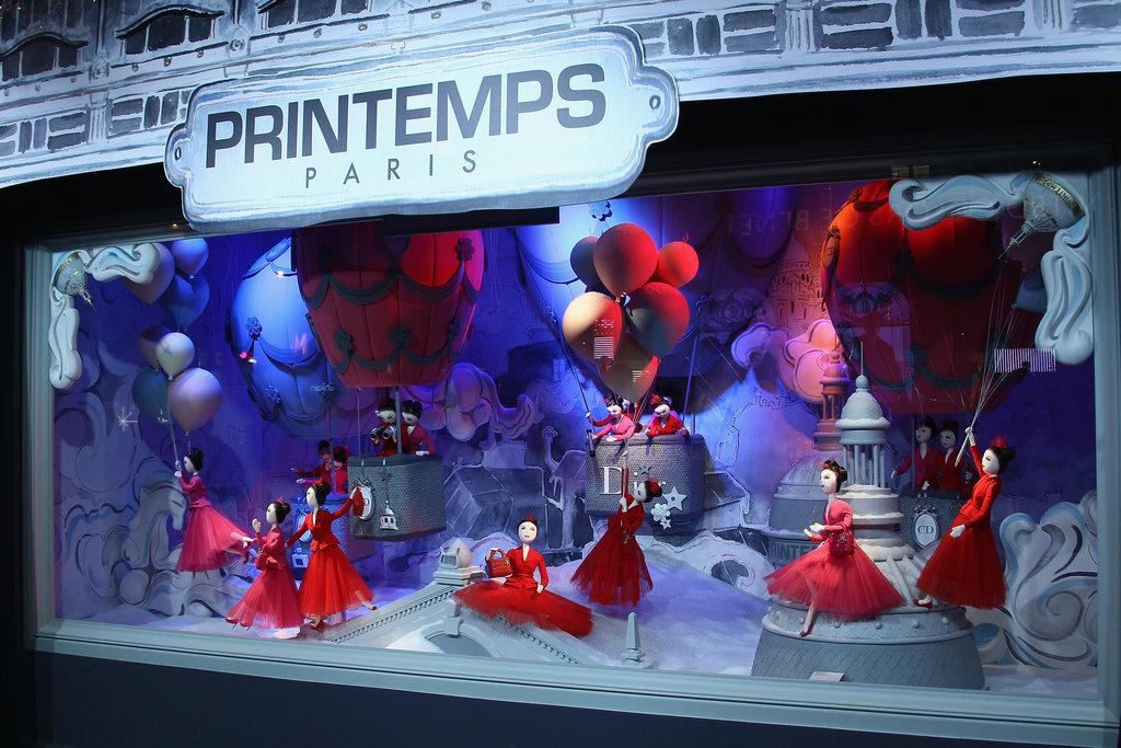 Printemps Haussmann Paris