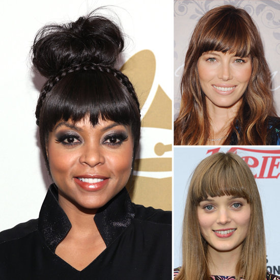 The Brow-Kissing Bangs