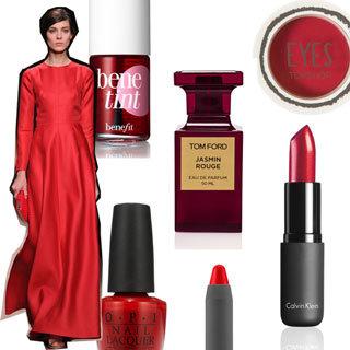 Top 10 Red Lipstick, Nail Polish and Makeup