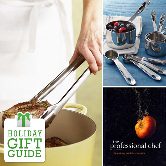 It's easy to pull together essential items for both home kitchen and professional use. YumSugar rounded up some ideas perfect for the aspiring chef.