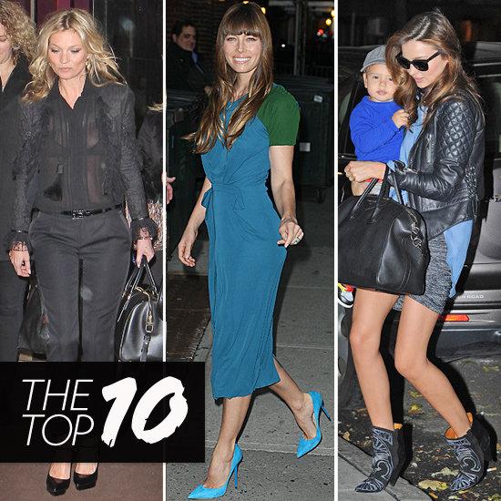 Découvrez notre top 10 spécial look des stars la semaine dernière !