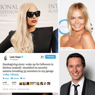Best Celebrity Tweets: Lara Bingle, Lady Gaga, Harry Styles