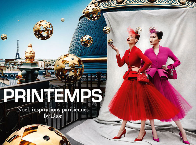 Christian Dior x Printemps Holiday 2012