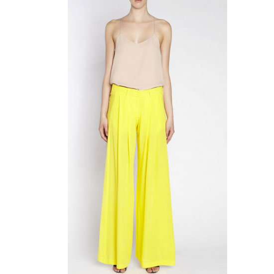 I love the idea of a statement pair of pallazzo pants for a night out. I'd wear with a spaghetti-strap white tank and the highest heels I own. — Ali, FabSugar editor  Pants, $460, camilla and marc