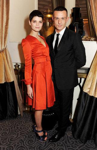 Pixie Geldof and Jonathan Saunders