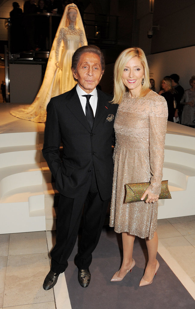 Valentino Garavani and Princess Marie Chantal