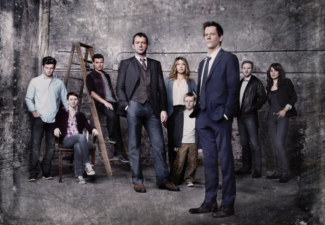 The cast of The Following.