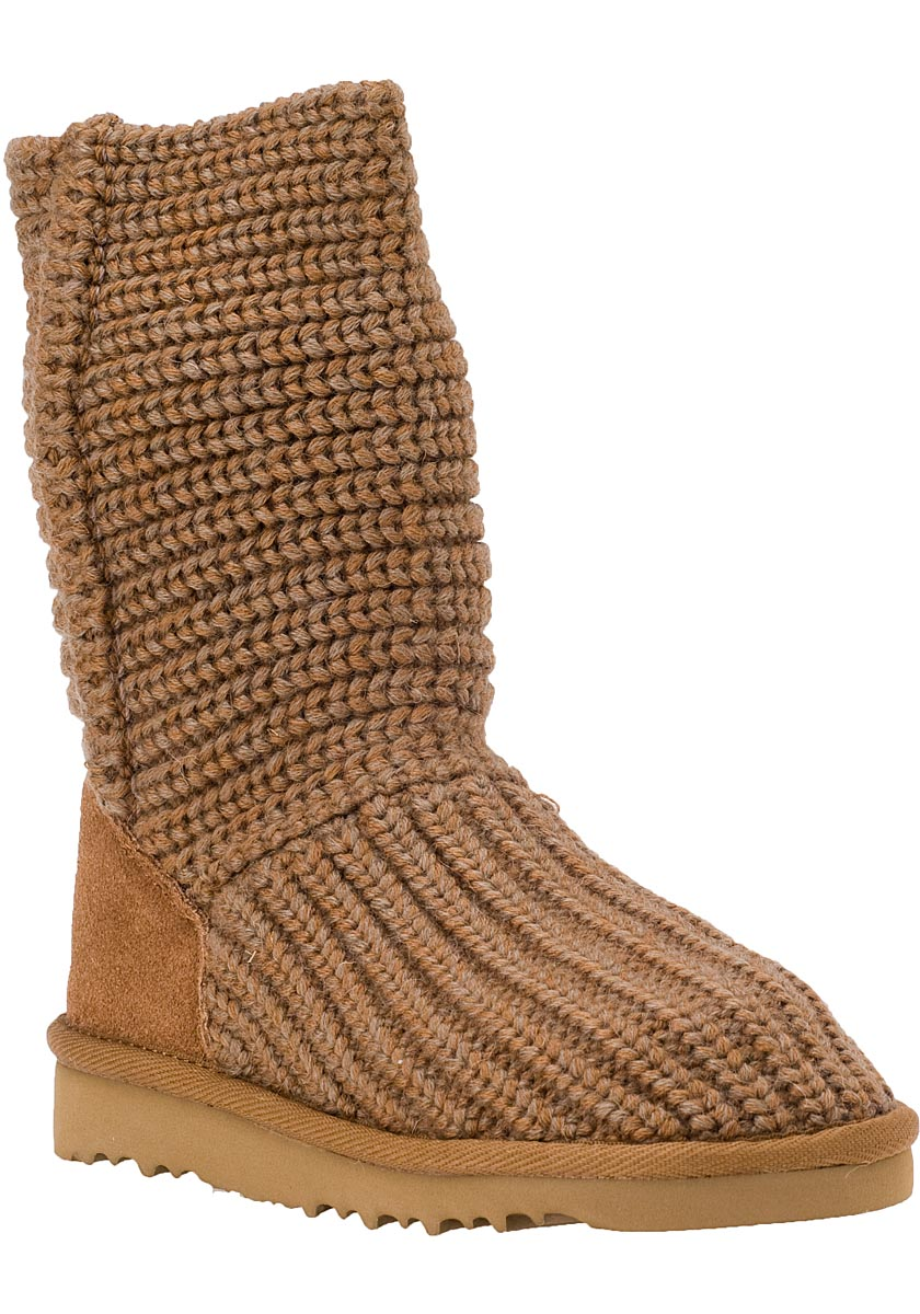 UGG Australia Kids Crochet Chestnut Boot Not Your ...