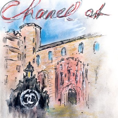 Karl Lagerfeld's Chanel Scotland Show Invite