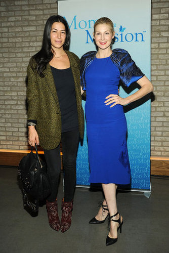 Rebecca Minkoff and Kelly Rutherford