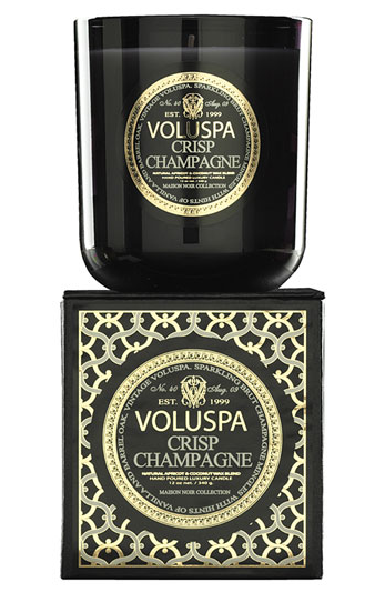 Voluspa makes some of the yummiest scented candles around. My sister recently introduced me to this Crisp Champagne scent ($27). I guarantee you won't be disappointed.  — Chi Diem Chau, associate editor