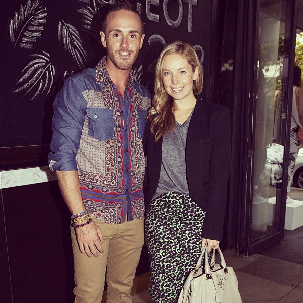 Ali met up with Westfield stylist Donny Gallela at the Peugeot x L'America collaboration launch.