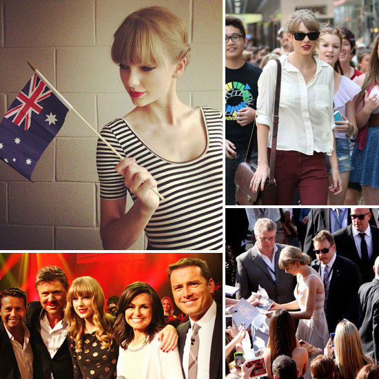 Taylor Swift's Australian Diary — See What She Got Up To!