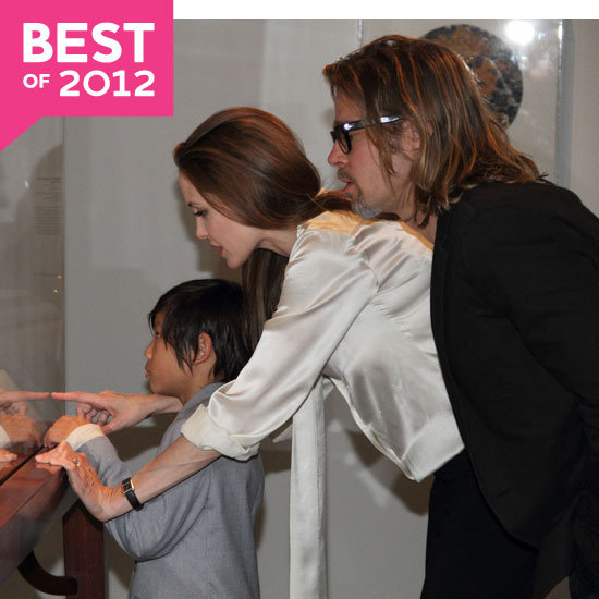 Angelina Jolie and Brad Pitt Highlights of 2012