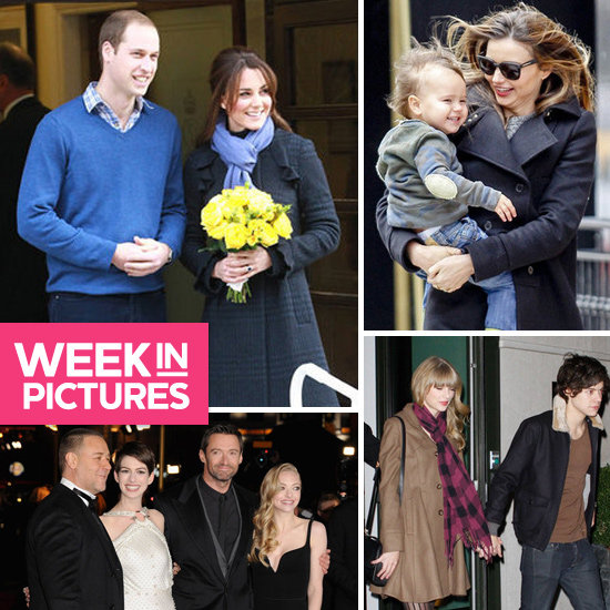 The Week in Pictures: Kate Middleton Pregnant, Taylor & Harry, Les Mis, Miranda & More!