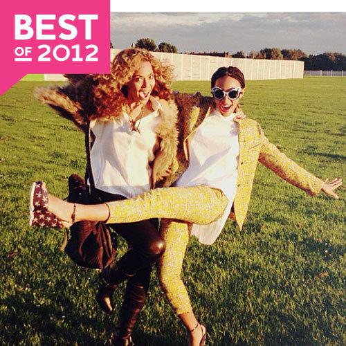 Best Celebrity Social Media Pictures of 2012