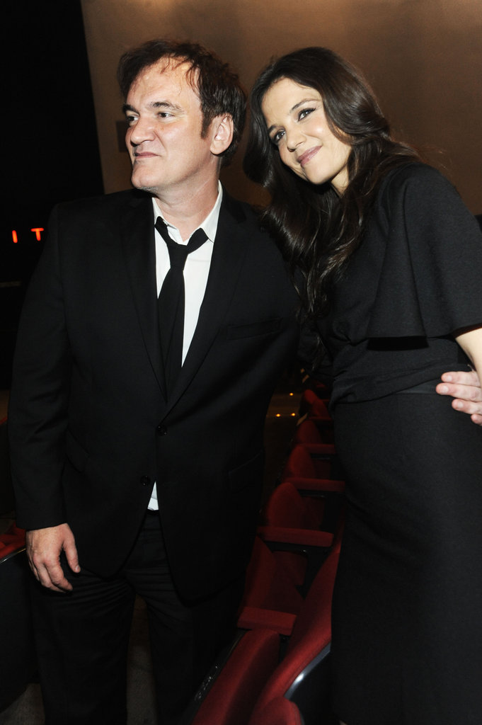 Diane Kruger and Katie Holmes Toast Quentin Tarantino