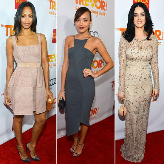 Katy Perry, Zoe Saldana, and More Light Up the Trevor Project