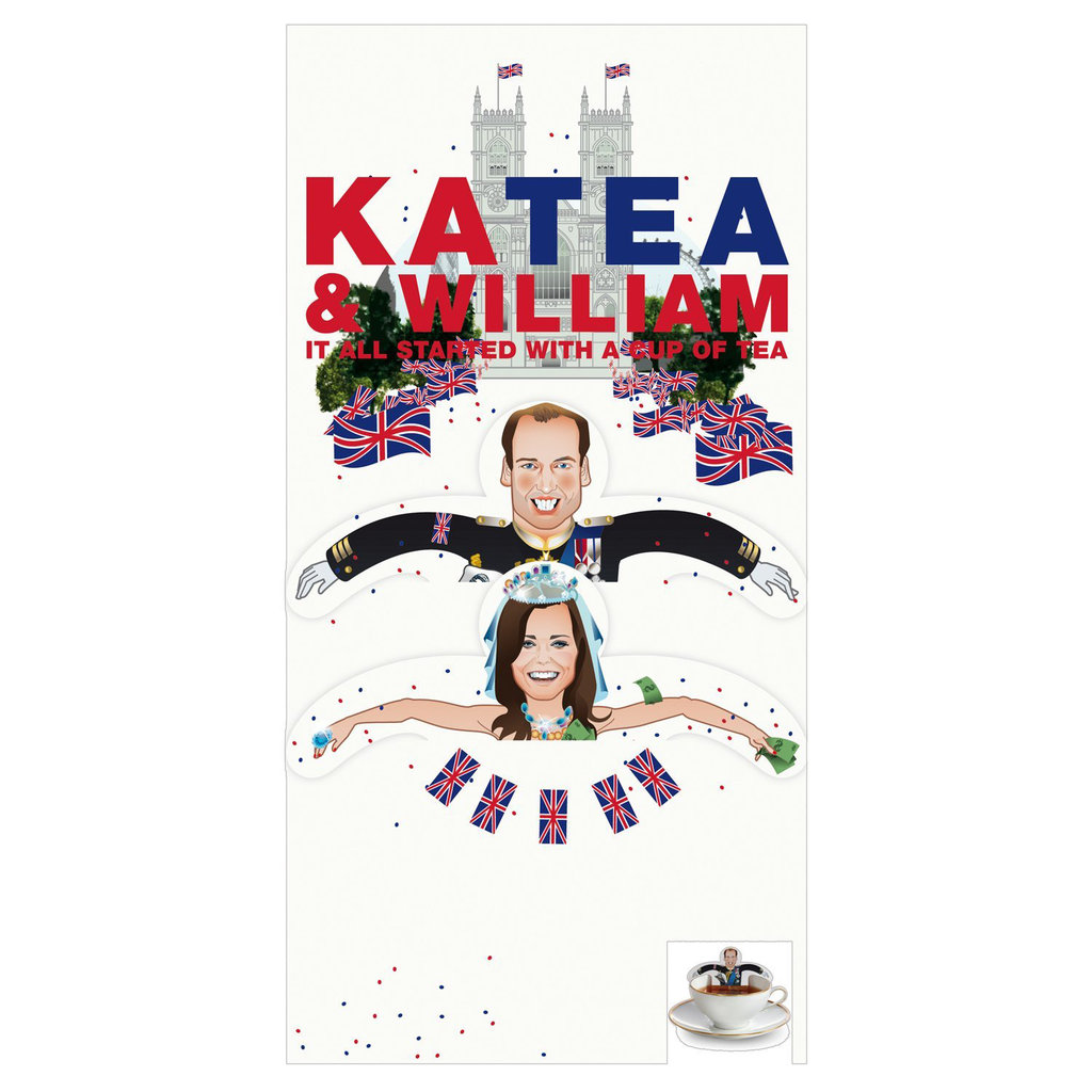Prince William and Kate Tea Bags