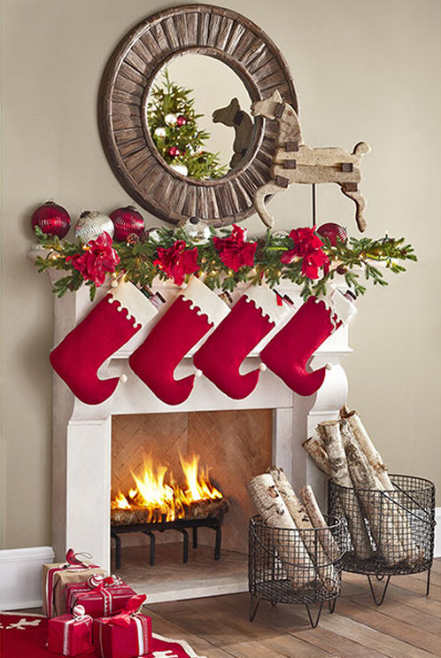 Mrs. Cleaver's Felt Stocking