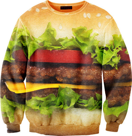 Mr. Gugu & Miss Go Hamburger Sweater
