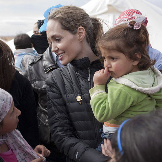 Angelina Jolie In Jordan With UNHCR; Talks Retiring