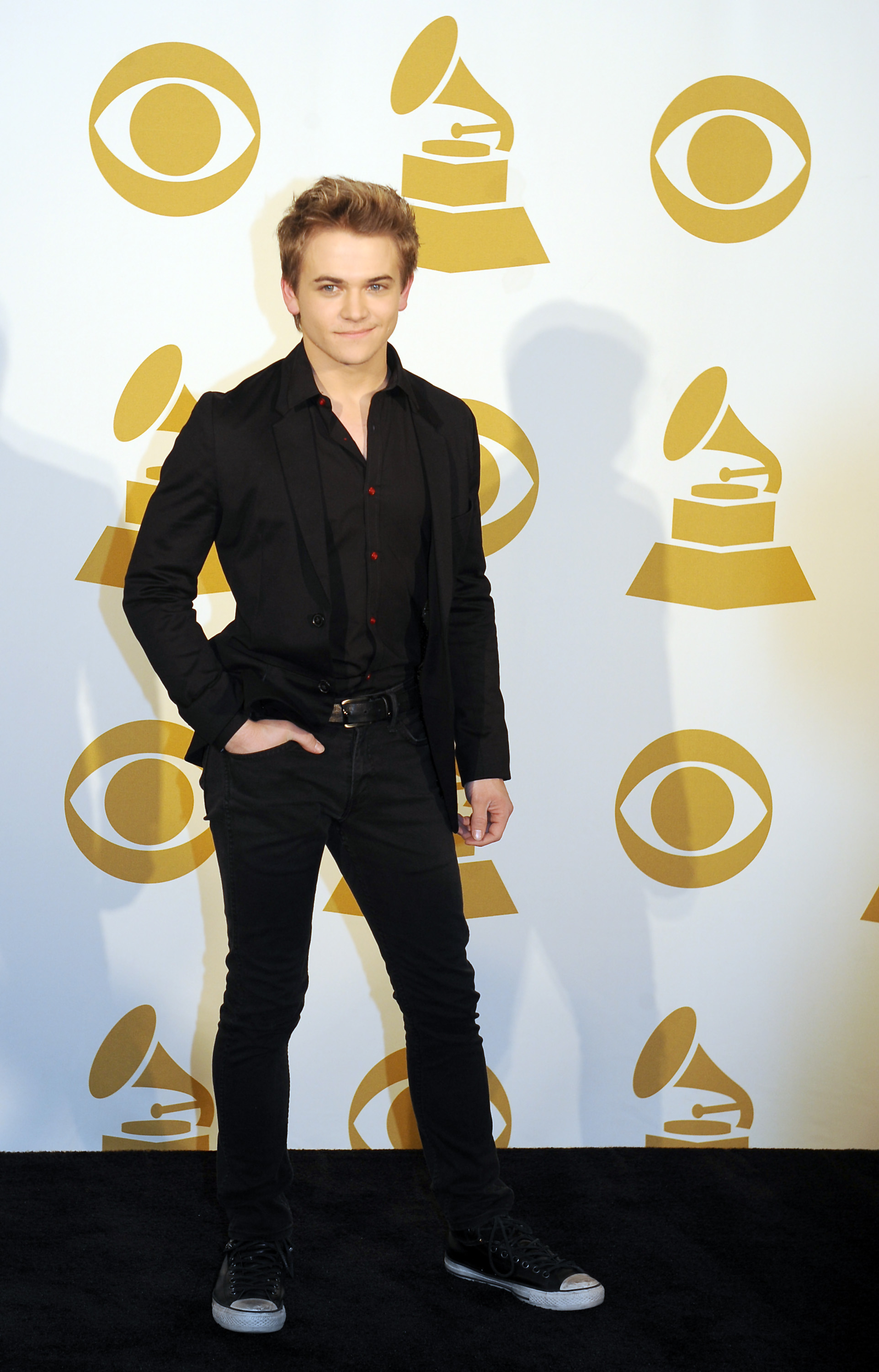 Hunter Hayes stepped out in Nashville.