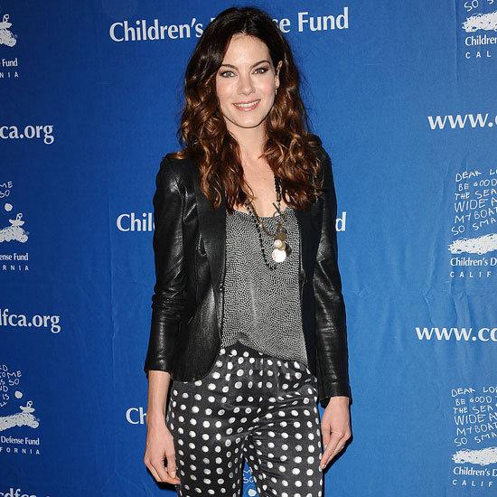 Michelle Monaghan Wearing Polka-Dot Pants