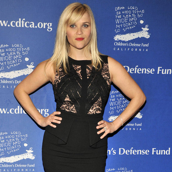 Reese Witherspoon's Lacy Black Dress At Beat The Odds Awards