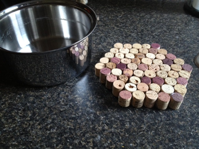 Cork Pot Holder