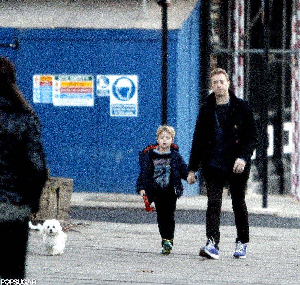 Gwyneth Paltrow Heads Into LA as Chris Martin Hangs at Home in London