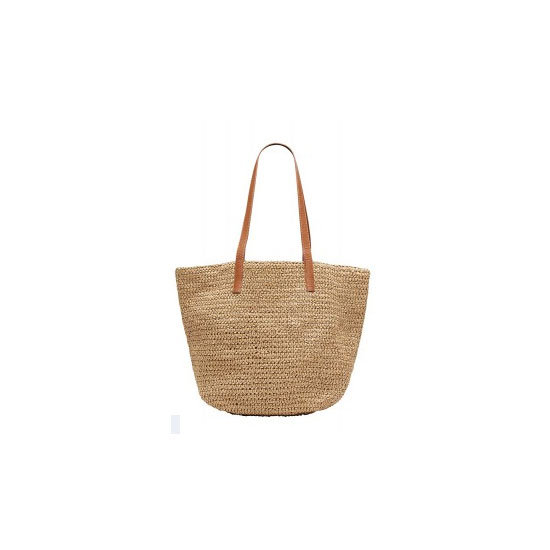 A Straw Beach Bag
