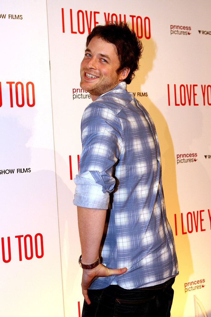 Giving photographers the shoulder at the Melbourne premiere of I Love You Too in Apr. 2010.