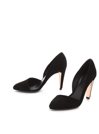 These aren't just of-the-moment heels. Investing in these Rebecca Minkoff Selina d'Orsay Pumps ($207, originally $295) will last you well beyond this season's party circuit. They'll also be the chic finish to your little strapless dress (with or without tights).