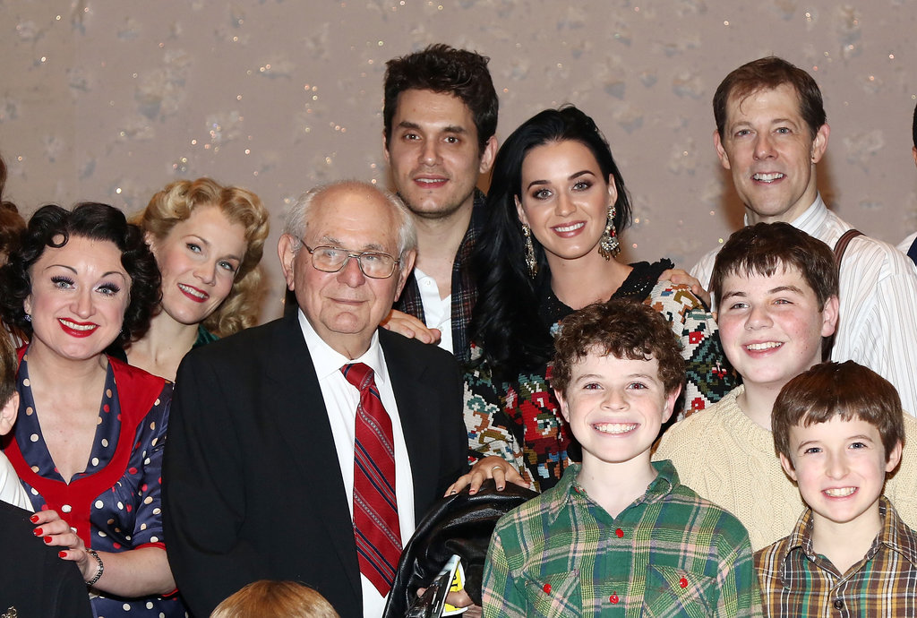 Katy Perry and John Mayer enjoyed the musical.