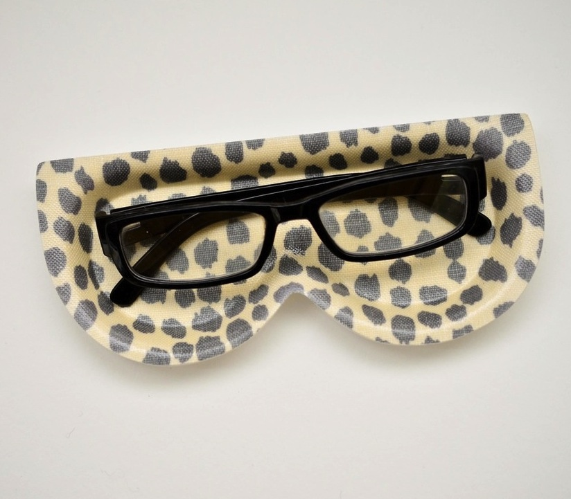 I don't wear glasses (yet), but I am always finding it hard to keep track of my shades. Enter this charming Michael Devine Dottie Cloud Eyeglass Tray ($30), which is perfect for keeping in the entryway to catch my glasses as I come and go. I love the print, and it can also do double-duty for holding loose change and bobby pins. — Brittney Stephens, assistant editor
