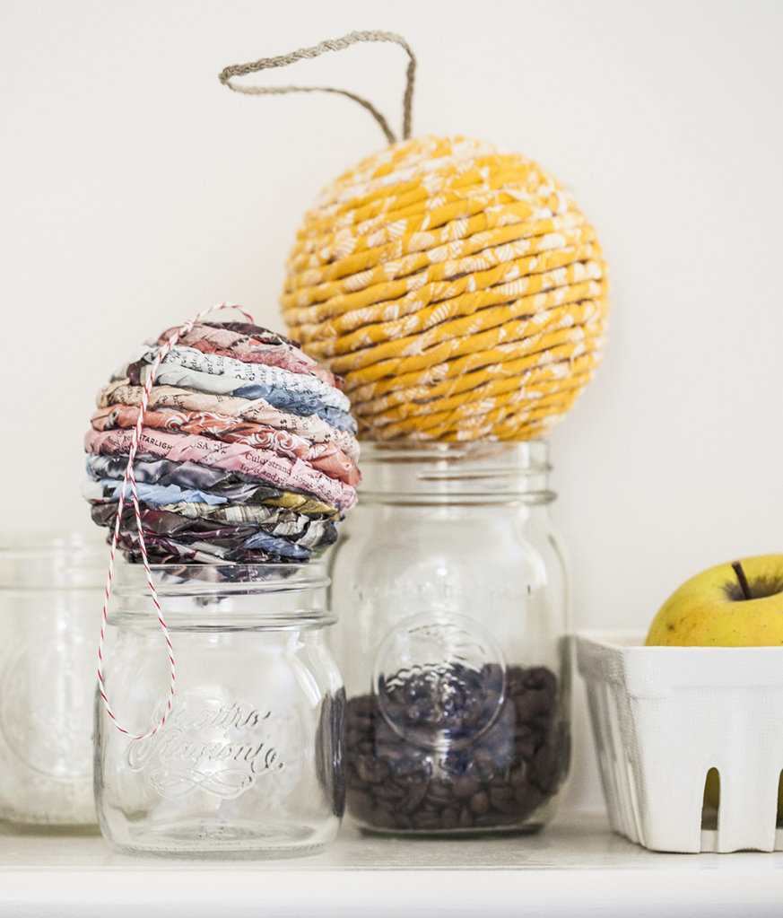 Wrapped Ball Ornaments