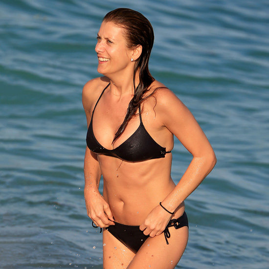 Kate Walsh Bikini Pictures in Miami