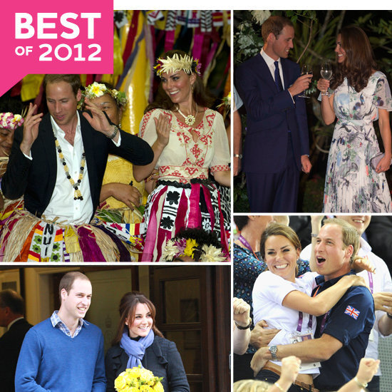 Best of 2012: Top Photos From Prince William and Kate Middleton's Year