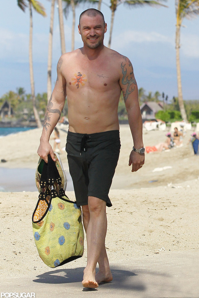 Brian Austin Green took his bod to the beach while hanging out in Hawaii this February.