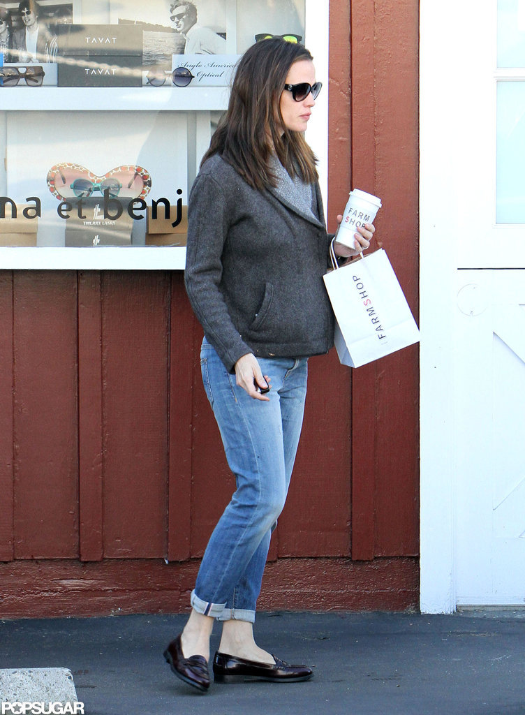 Jennifer Garner got coffee.