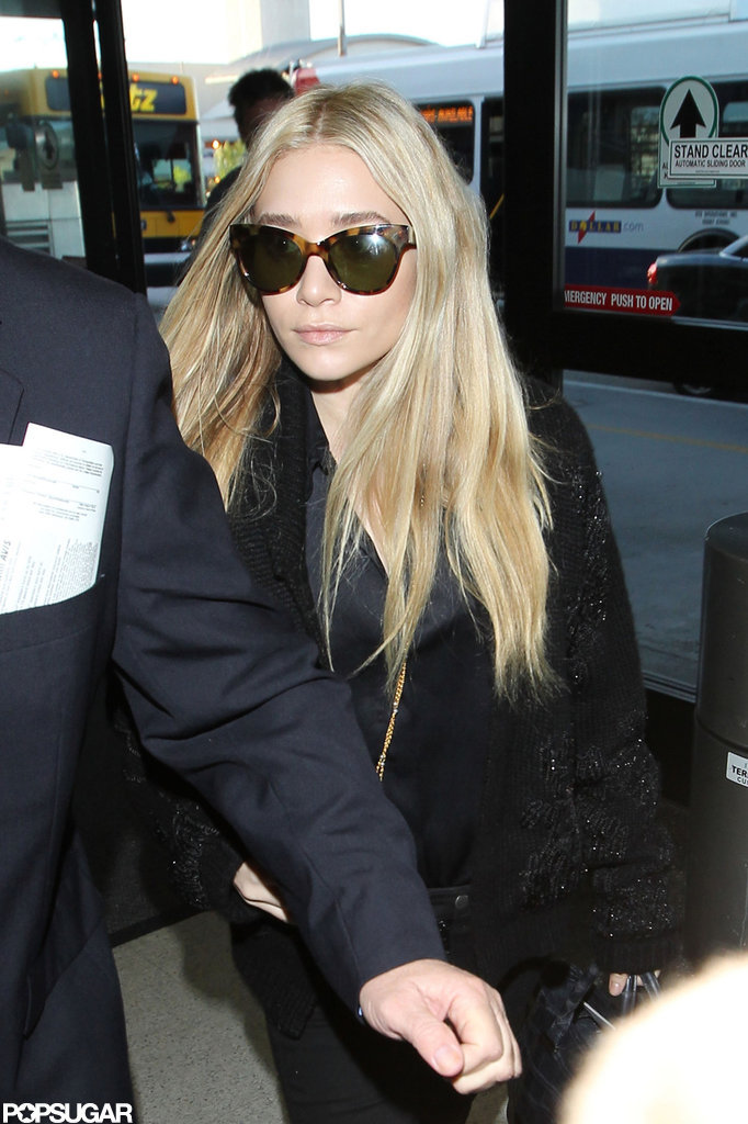 Ashley Olsen stepped out in LA.