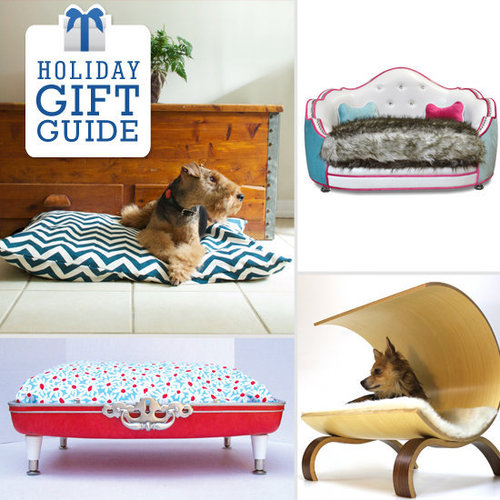 Treat your favorite pup to some serious indulgence this holiday season and splurge on a dog bed that will have him feeling like he's in the lap of luxury — head over to PetSugar to start shopping.