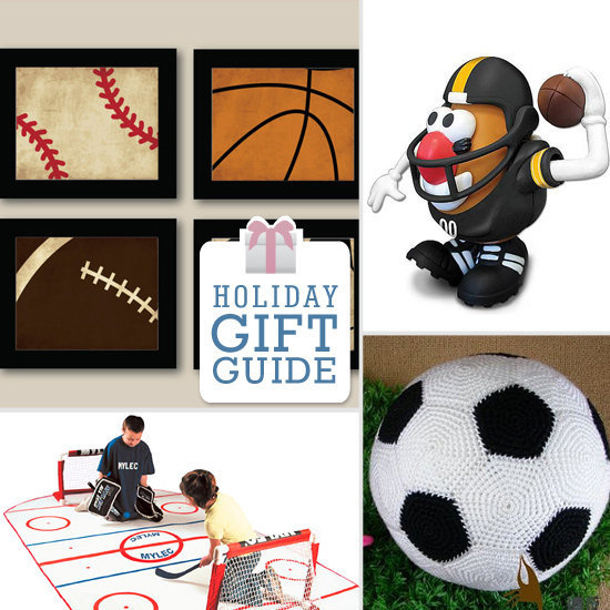 Reward your athletic tot (or sideline-sitting baby) this holiday with one of LilSugar's nine spectacularly sporty gifts!