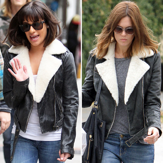 Lea Michele and Mandy Moore have us totally obsessed with this jacket.