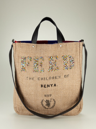 This FEED 2 Kenya Bag ($250) is the perfect everything bag. It'll easily fit all your beach essentials, and we love the handy shoulder strap.