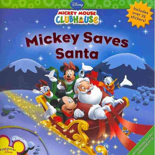 Your kids will love to read about their favorite Disney mouse helping out at the North Pole in Mickey Saves Santa ($5).