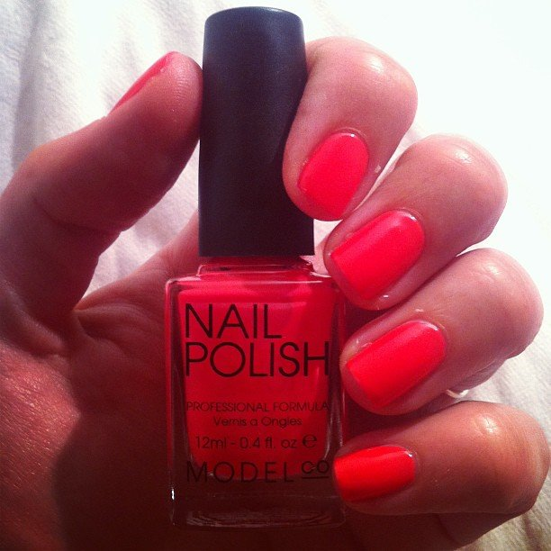 Alison's officially hooked on this Model Co polish. The colour name? Kylie. How party perfect.